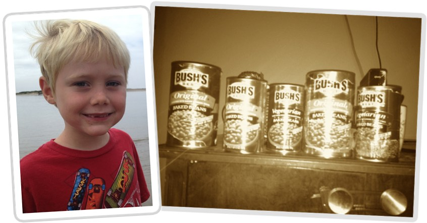 Jack and his Bush's Baked Beans